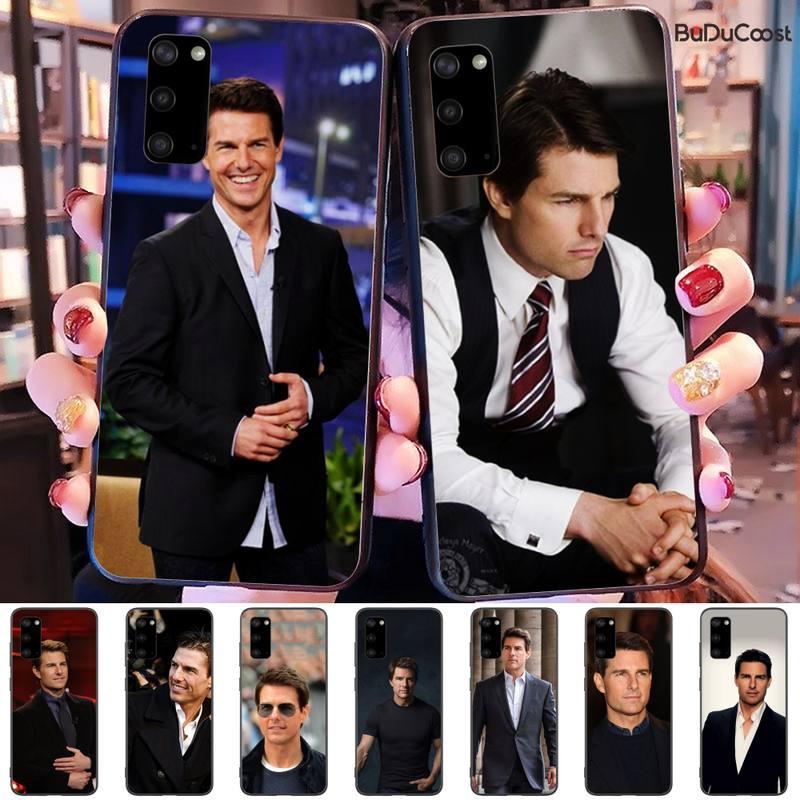 Tom Cruise Coque Coque Pour Téléphone Portable Samsung Galaxy S9 S10 S10E S6 S7 S8 S9 S9Plus S5 S20
