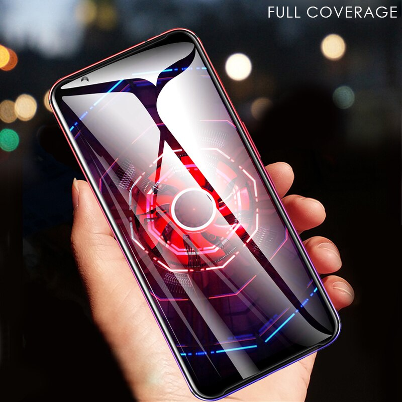 Vidrio templado para ZTE nubia Red Magic 3 /3S Protector de pantalla cubierta completa Nano hidrogel Film Glass