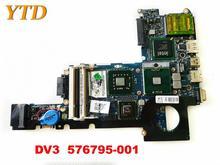 Original pour HP DV3 ordinateur portable carte mère DV3 576795-001 testé bonne livraison gratuite
