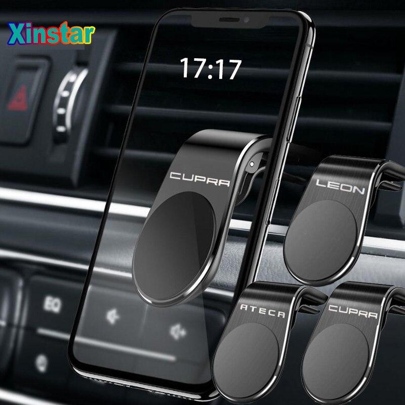 Plastic Car phone holder sticker for seat Leon CUPRA ateca Car Accessories
