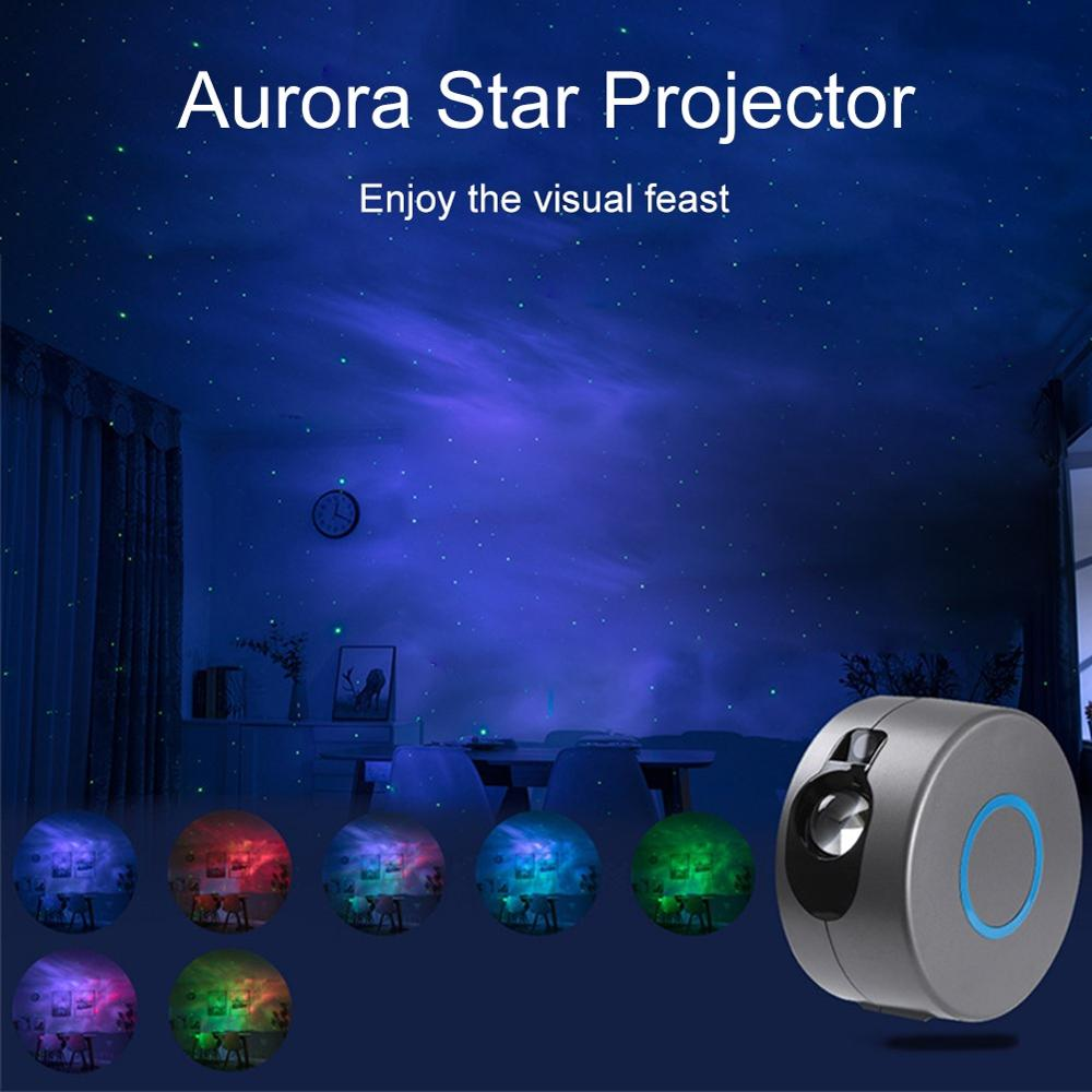 Proyector Galaxia Night Lights Deco Chambre Enfant Christmas Smart Light Indoor Led Lamp Home Lumiere Etoile Led Projeteur Gifts enlarge