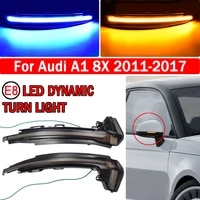 led dynamic car blinker side mirror marker turn signal light lamp accessories for audi a1 8x 2011 2012 2013 2014 2015 2016 2017