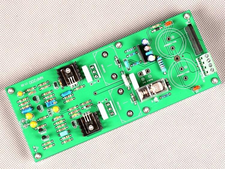 Naim nap200 sanken c2922 70w amplificador de potência terminou placa (1 canal, nenhum 2 grande eletrólise)