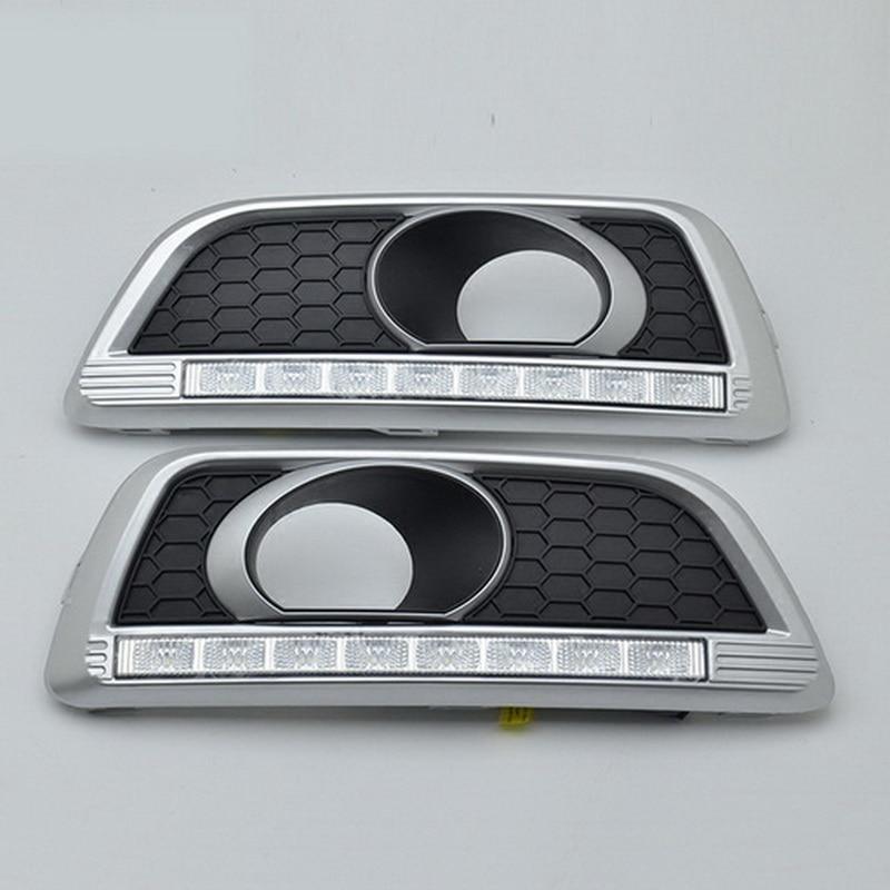 BOOMBOOST 2 uds coche accesorio de coche estilismo daytiime luces para C/hevrolet M/alibu 2011-2015