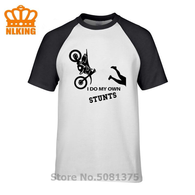 Nueva camiseta con diseño de motocicleta, camisetas para hombre, Tops y camisetas para Ducati Motorbike Hypermotard 1100, gráfico personalizado I DO MY OWN STUNTS