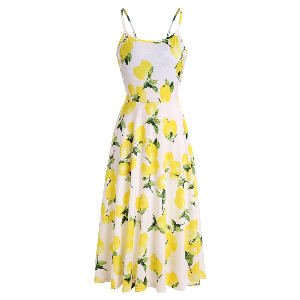 Spring Summer Women Dress Boho Maxi Long Dress Sexy Halter Split Beach Evening Party Dresses Floral Print Sling Vestido De Festa