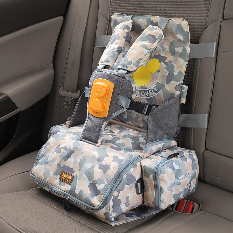 3 in 1 portable seat baby Feeding Booster Seat Mommy backpack large capacity bag Portable Baby Hight Chair Child kids