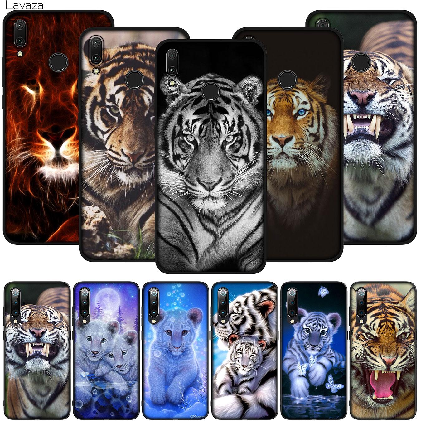 Animal cachorro de tigre cubierta suave de silicona para Xiaomi Redmi Nota 8 7 6 5 Pro 8T 7A 6A 5A primer Plus teléfono caso