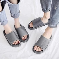 high quality women slippers summer fashion casual couples non slip sandals indoor household comfortable slippers large size 46