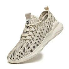 Summer Mesh Breathable Running Shoes Men Lightweight Rubber Sole Zapatillas Hombre Size 39-46 Men's