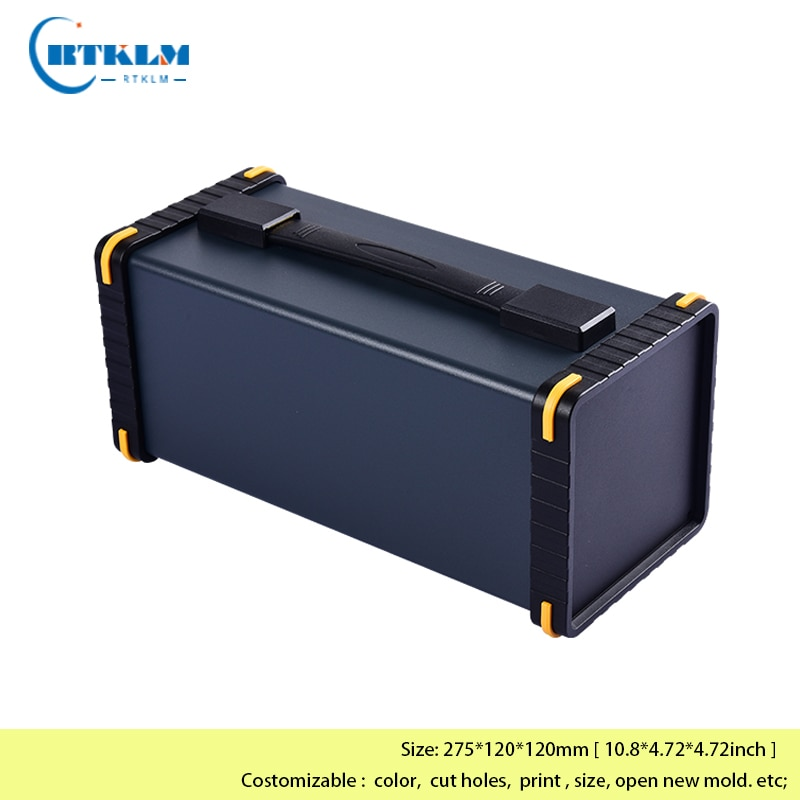 الألومنيوم الإلكترون الضميمة المحمولة أداة صندوق لتقوم بها بنفسك صندوق امدادات الطاقة لتقوم بها بنفسك علبة توزيع إلكترونيات صندوق وصلات إل...