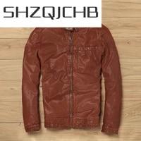 shzq streetwear 100 natural genuine leather jacket men autumn spring clothes 2021 moto biker real sheepskin coat jackets lw04