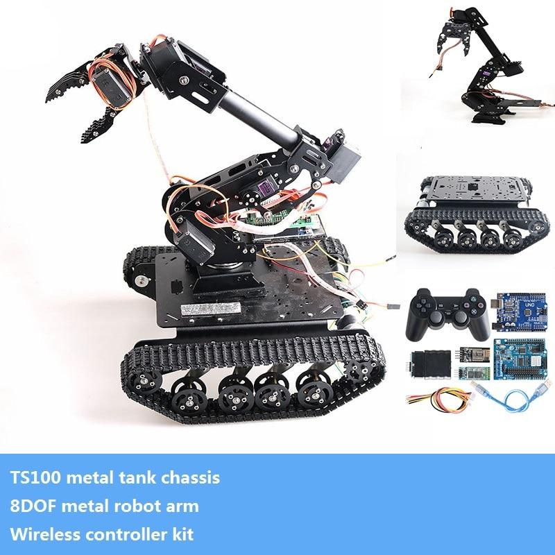 Металлическая 8-осевая Роботизированн