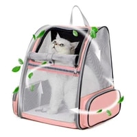 pet cat carrier cat backpack breathable portable foldable travel outing pet bag for small dogs cats shoulder bag puppy cats bags