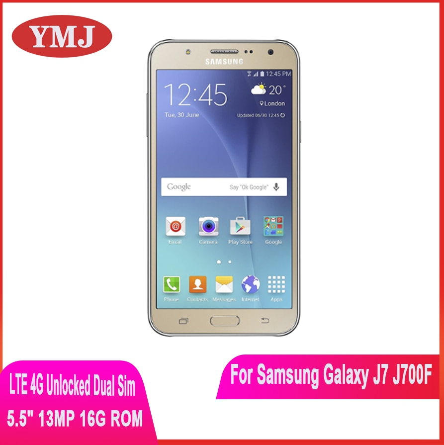Samsung Galaxy J7 SM-J700F Dual SIM desbloqueado teléfono móvil 1,5 GB RAM...