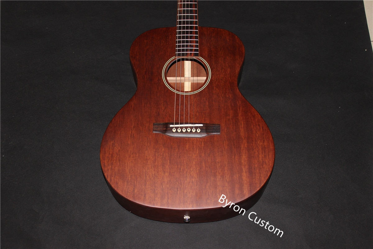 free shipping student guitar kid beginners guitar OOO 15 style body 39