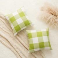 nordic style linen plaid decorative cushions pillowcase cushion cover throw pillow sofa decoration outdoors pillowcove 40806