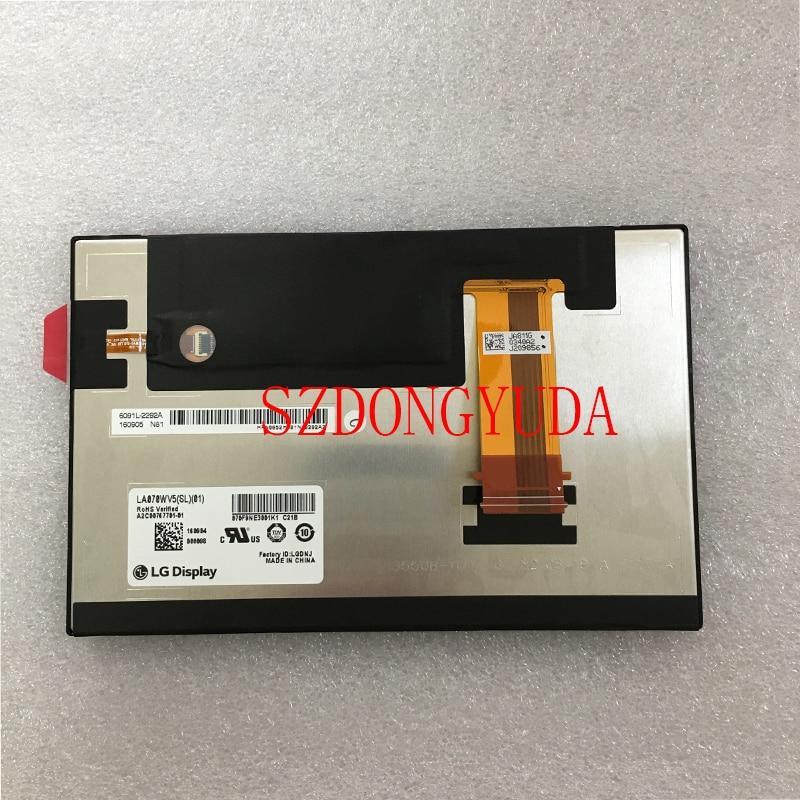 Original 7'' Inch LA070WV5-SL01 LA070WV5(SL)(01) For Car Navigation Tablet LCD Screen