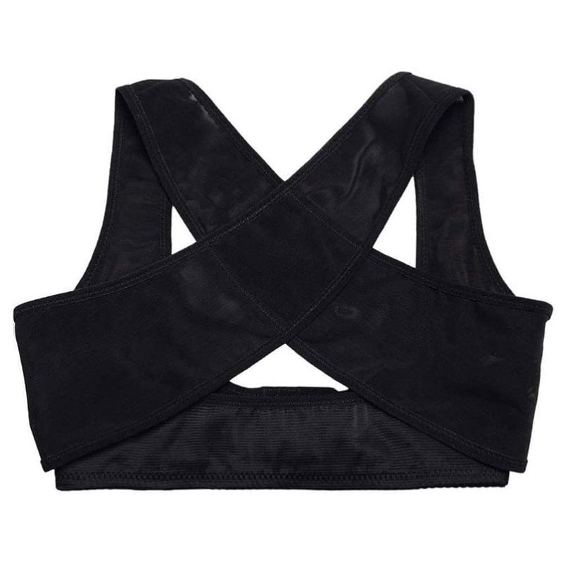 Ropa de uso diario ajustable clavícula mujeres pecho Corrector de postura cinturón de apoyo Body Shaper Corset hombro Brace para el cuidado de la salud