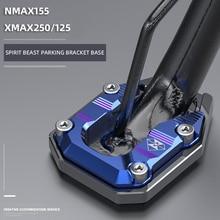 Spirit monster-plaque de Support de pied   Pour moto, couvercle de Paddock pour Yamaha NMAX155 XMAX250 XMAX125