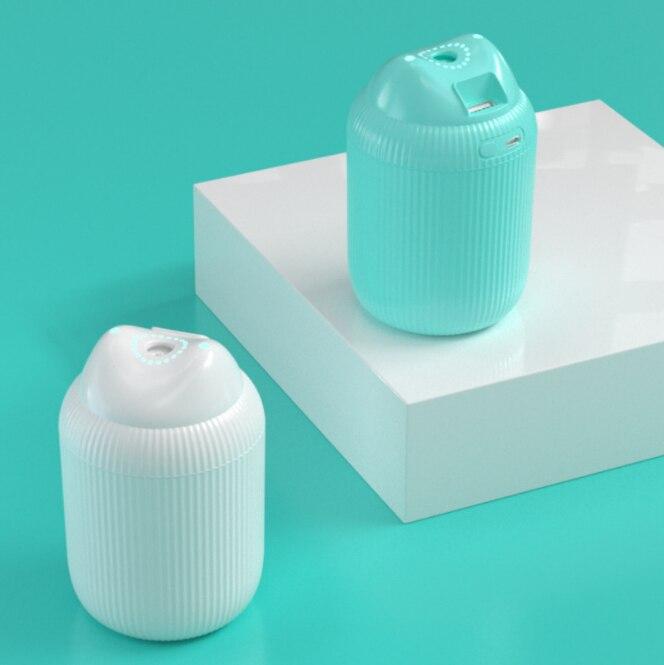 Humidificador USB, difusor de aroma de aire para escritorio de coche en casa, pequeños electrodomésticos