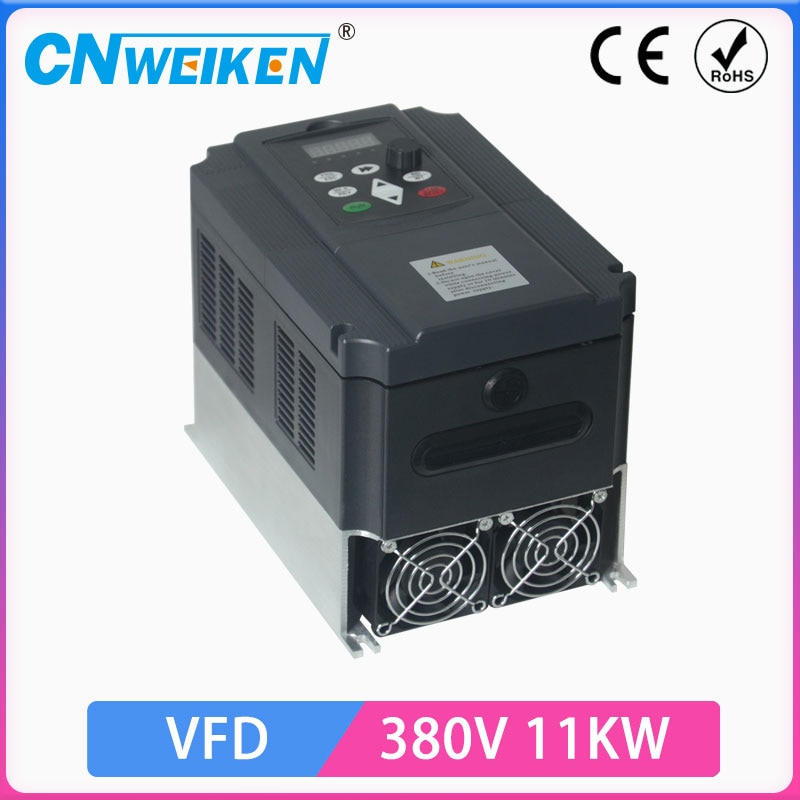 VFD 380 فولت 11KW محول تردد متغير 3 المرحلة محول منظم السرعة موتور VFD العاكس