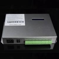 t 300k t300k led pixel controller rgb pc on line pixel full color controller via pc sd card 8 ports 8192 pixels ws2811 ws2801