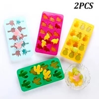 12pcs food grade ice cube trays silicone ice cube chocolate cake mold ice maker kitchen accessories