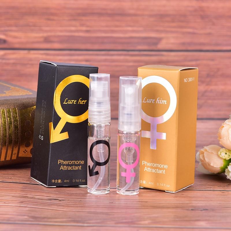 4ml Pheromone Exciter For Women Men Perfume Body Spray Flirt Perfume Attract Scented Long Lasting Perfume Fragrance Deodorant