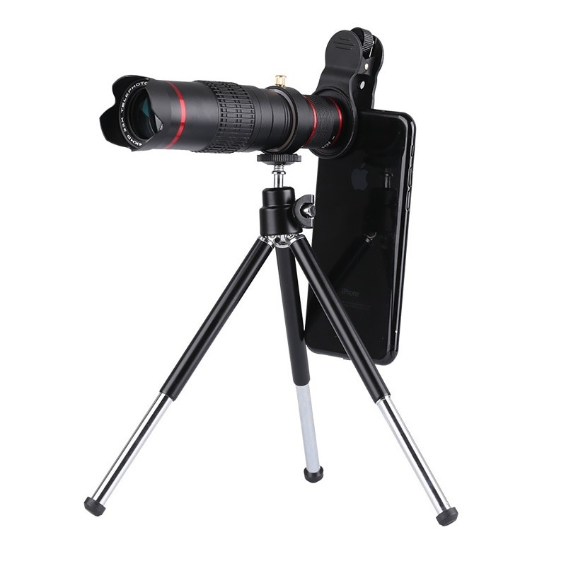 22x التكبير عدسة الكاميرا التكبير بصري الخارجي تلسكوب عدسة الهاتف للهواتف الذكية المقربة عدسة لسامسونج آيفون هواوي شاومي