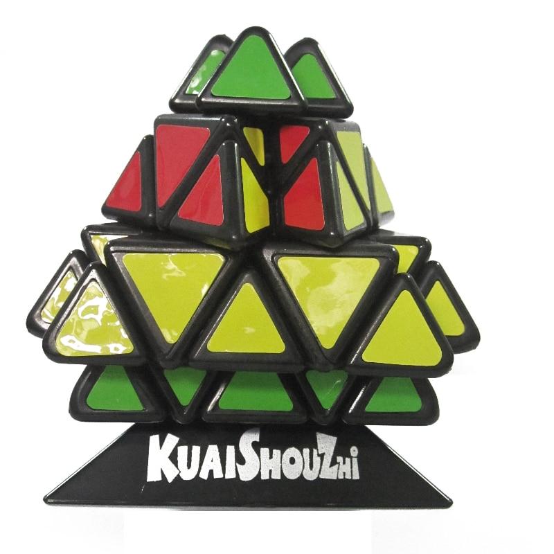 quebra cabeca de piramide de chama 3d brinquedo infantil