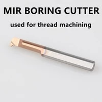 mir boring tool turning lathe tools cnc small hole grooving threading machining tungsten carbide alloy cutter for steel iron