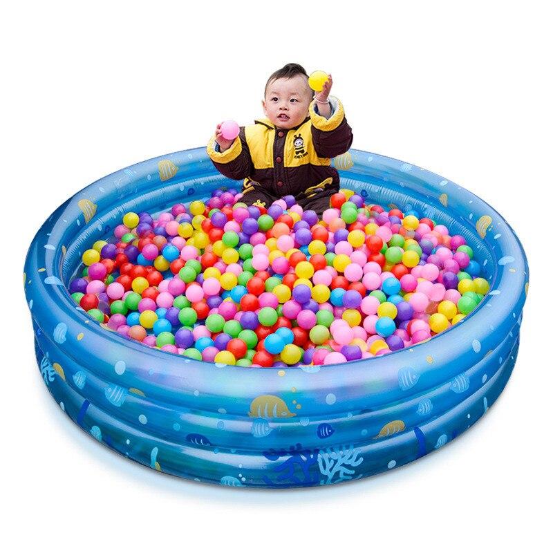 Надувной бассейн ребенка детские бассейны Портативный открытый плавательный Крытый детский ванна для бассейна дети играть в игры, игрушки ...