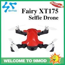 SIMTOO الجنية XT175 2.4G 4CH لتحديد المواقع 1080P HD كاميرا كاميرا سيلفي طائرة تدفق بصري لتحديد المواقع طوي واي فاي FPV أجهزة الاستقبال عن بعد أحمر/أسود