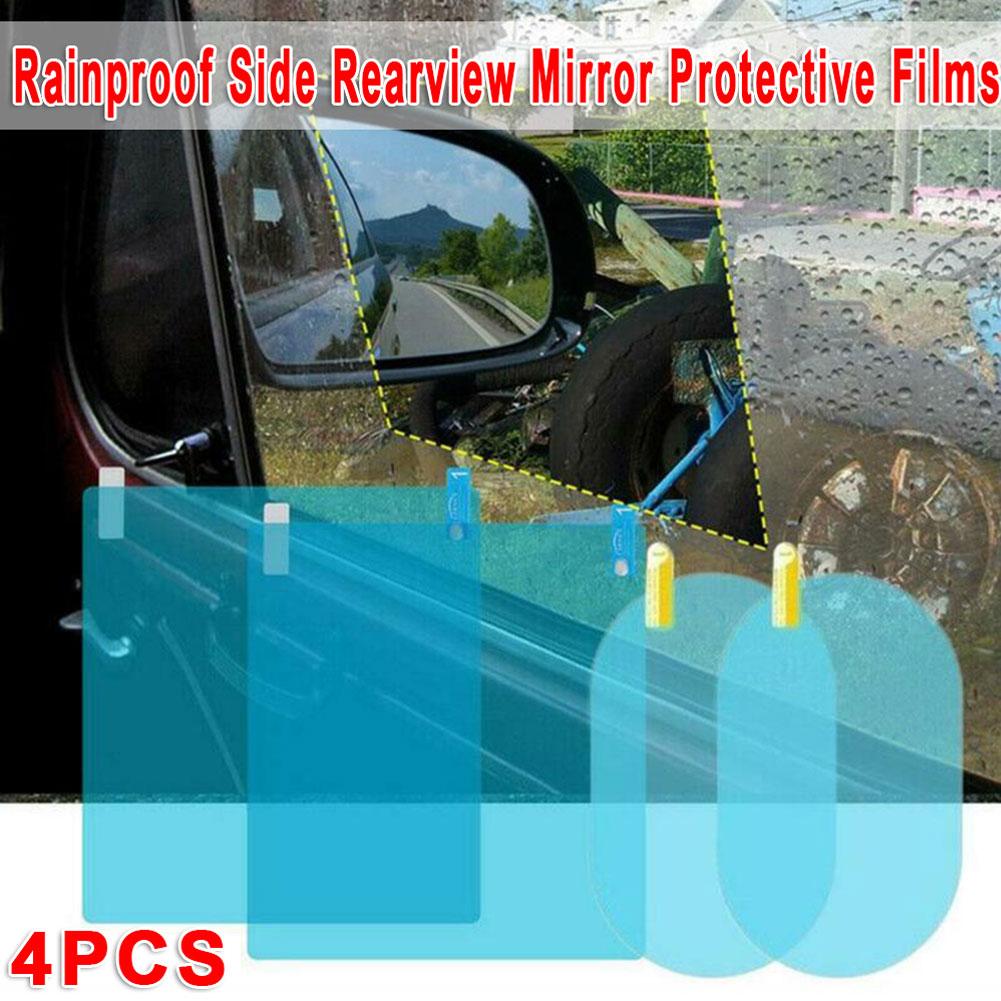 Car window protective film