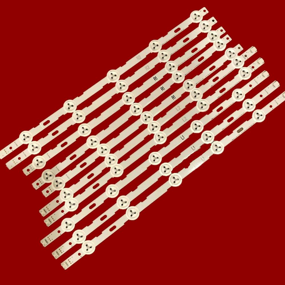 839mm Led-hintergrundbeleuchtung streifen 10leds Für LG 42 zoll LCD TV 42LN5200 6916L-1402A 6916L-1403A 6916L-1404A 6916L-1405A V13 cDMS
