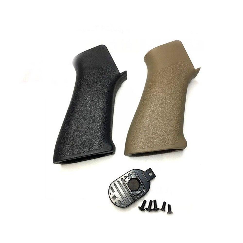 Táctico Element Airsoft modelo de pistola de juguete accesorio pistola de bola de gel HK416 M4 M16 Especial Táctico mango de agarre trasero de nylon