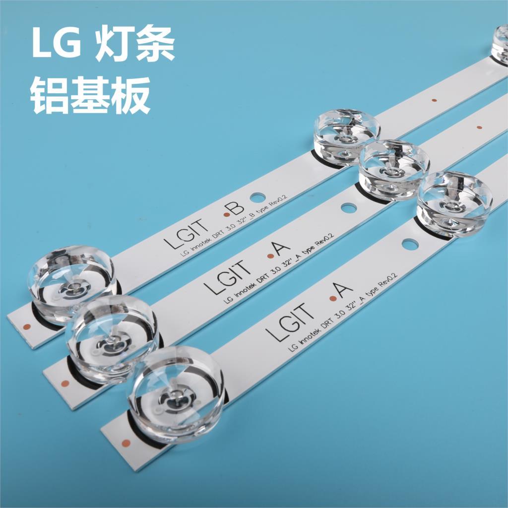 3 x LED backlight Strip for LG 32''TV innotek drt 3.0 32 LGIT drt3.0 WOOREE A/B UOT 32MB27VQ 32LB5610 32LB552B 32LF5610 lg32lf560