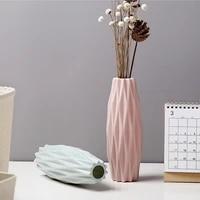nordic vase creative flower vase home decoration plastic living room modern simple culture home decoration ornaments