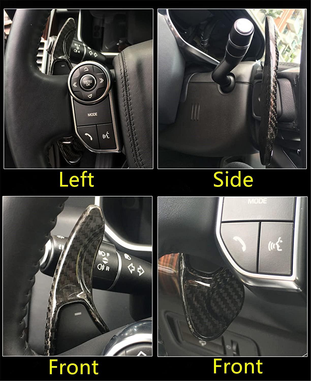 Carbon Fiber Car Steering Wheel Shift Blade Paddle Shifter Extension For Volkswagen Golf 7 VW Sciricco  Sagitar GLI Lamando GTS enlarge