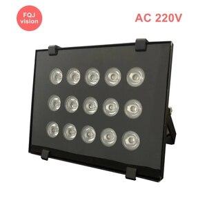 AC 220V Filled IR Led Outdoor Surveillance Camera Night Vision Black Metal Outdoor 45 90 Degree CCTV System Infrared Led Lamp