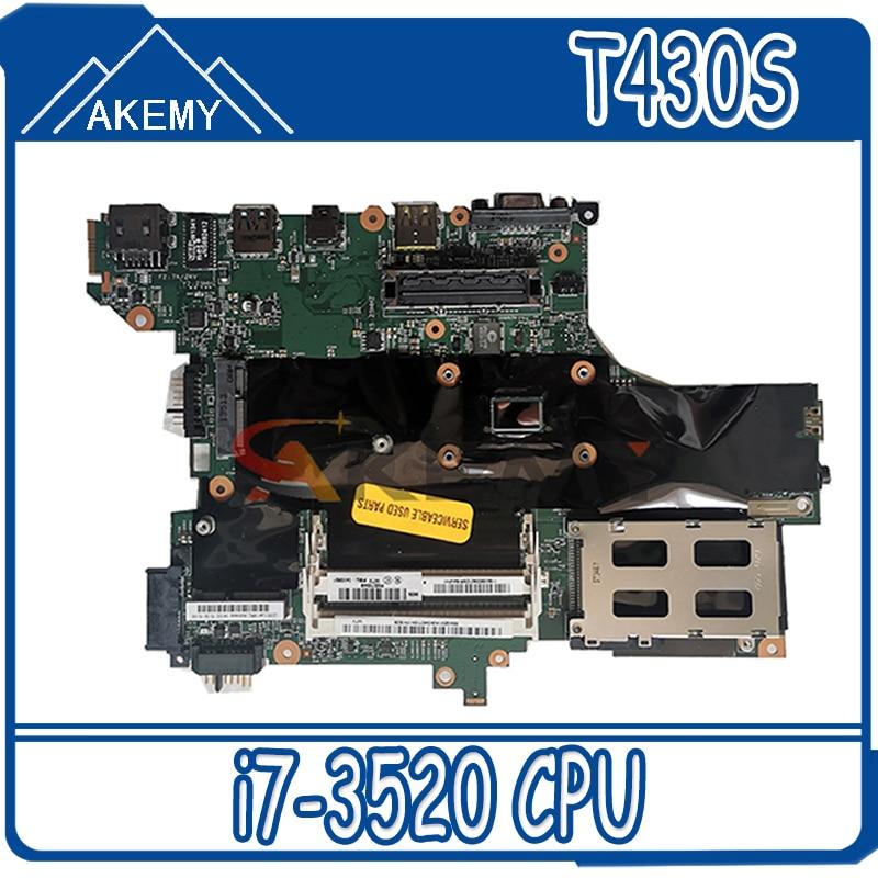 ثينك باد هو حقائب 04Y1458 04X1554 04X3678 ل T430S i7-3520 المتكاملة بطاقة الفيديو اللوحة الأم