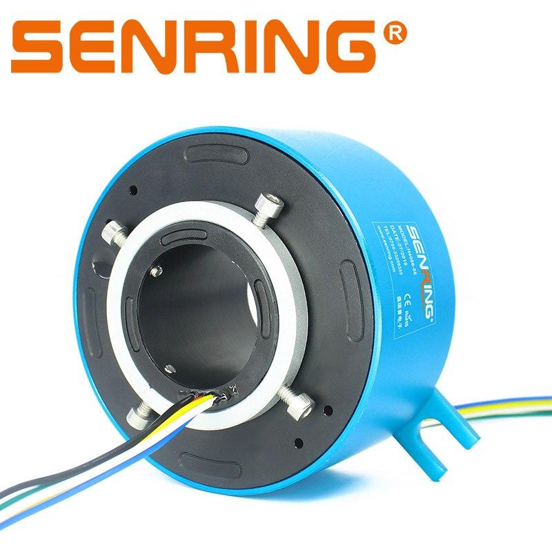 Nuevo ID de taladro a través de 40mm anillo deslizante 6 cables/12 cables cada 10 a con sensor OD 86mm