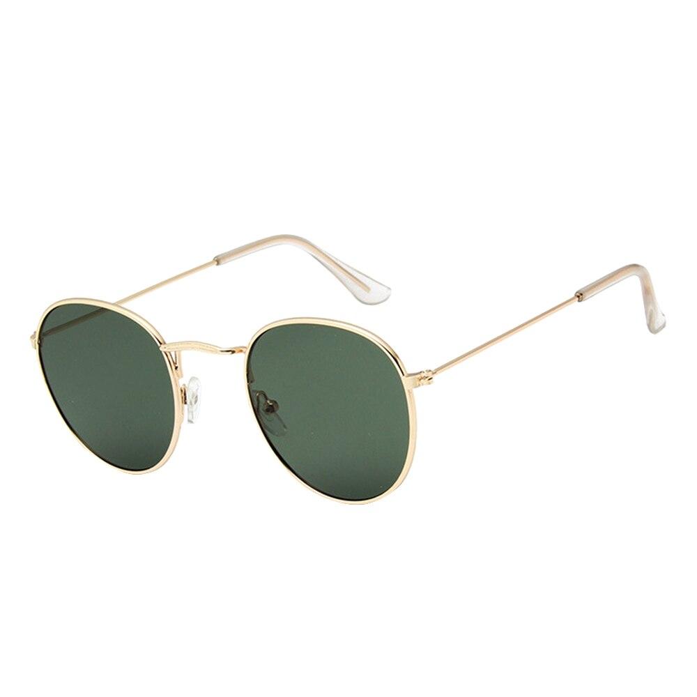Автомобильные антибликовые очки солнцезащитные очки модные круглые очки