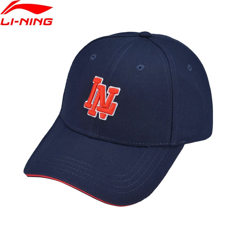 Li-ning-gorra de béisbol Unisex, de tendencia, con forro de 100% de poliéster 56-60cm, Li Ning Comfort, gorras deportivas, AMYP016, PMQ088