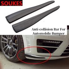 2 шт. 6D углеродный автомобильный спойлер бампер наклейка для Mitsubishi ASX Lancer 10 9 Outlander Pajero Suzuki Swift Grand Vitara SX4