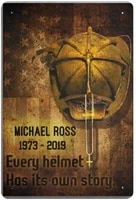 michael ross novelty parking retro metal tin sign plaque poster wall decor art shabby chic gift