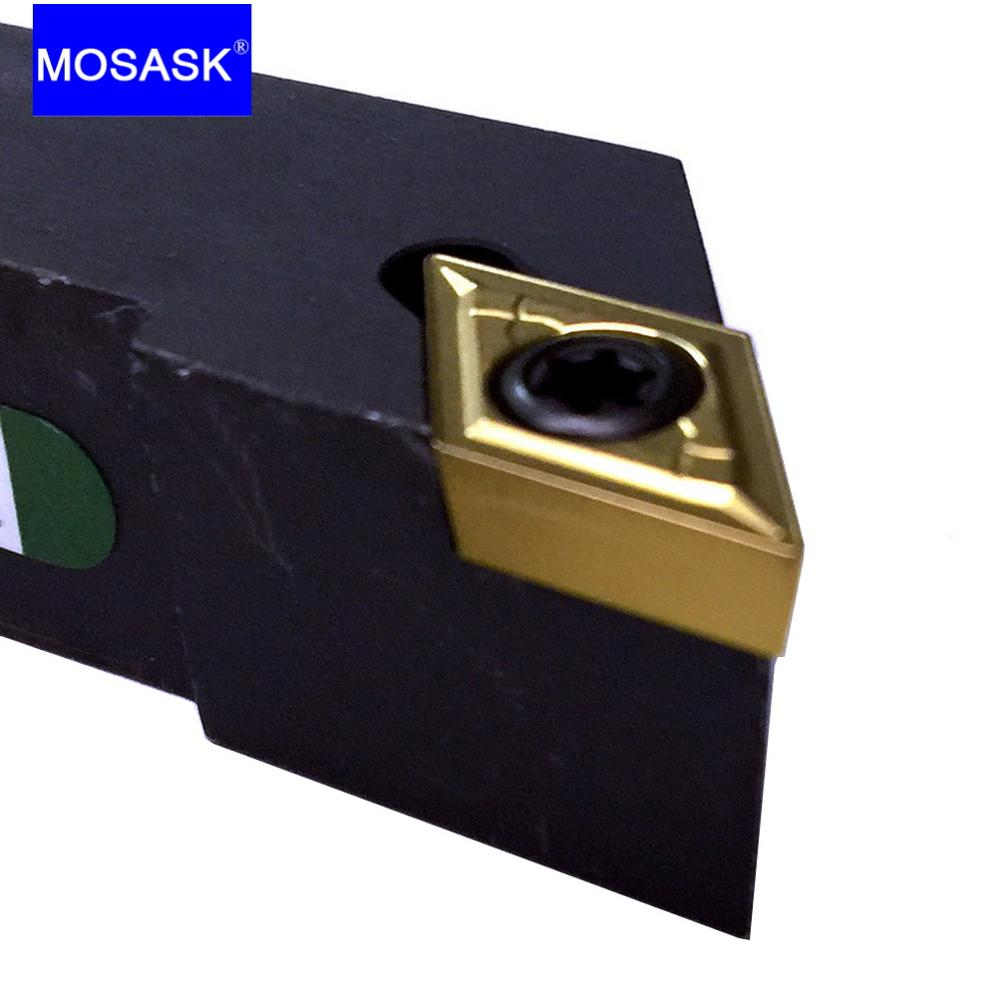 MOSASK SDJCL Indexable Cutter SDJCL1212H07 Bar Carbide Insert CNC Lathe Adapter External Turning Tool Holder