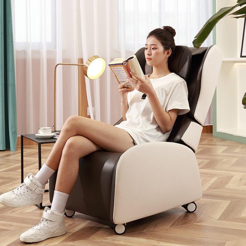 تدليك كرسي المنزلية الصغيرة متعددة الوظائف كامل الجسم الكهربائية الرقبة العجن الفضاء كبسولة التجارية للطي أريكة تدليك