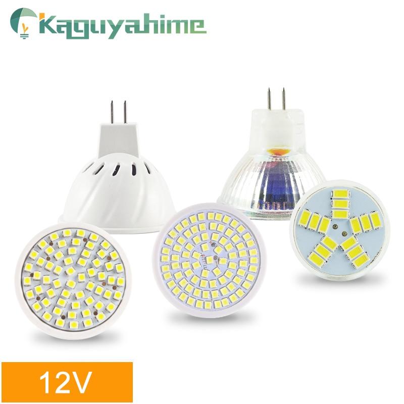Bombilla LED MR16 de Kaguyahime, foco MR11 de 12V, bombilla LED de 220V y 6W, Bombilla blanca cálida para decoración de focos